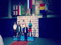 Adrian Preda, vicecampion european de box!